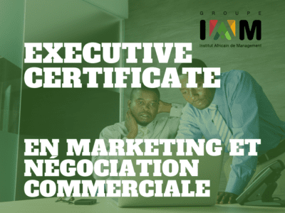 EXECUTIVE CERTIFICATE EN MARKETING ET NÉGOCIATION COMMERCIALE